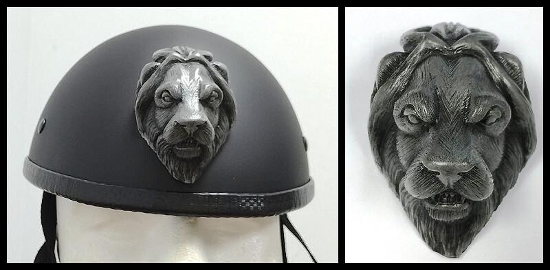 lion-silver-motorcycle-helmet-attachment.jpg