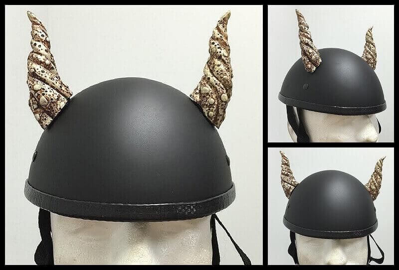 Motorcycle Helmet With Bull Horns Cool Motorcycle Helmet Bull