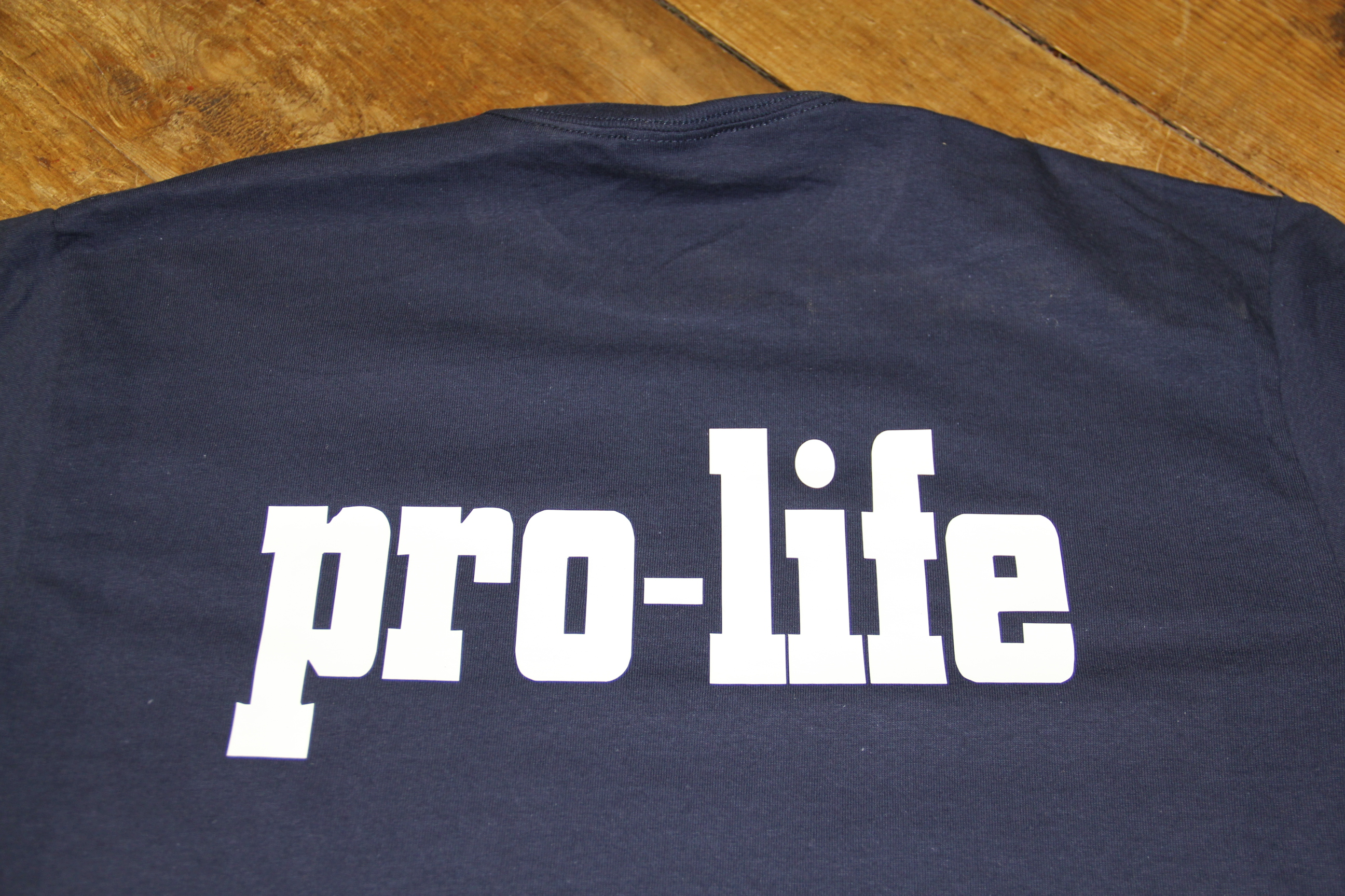 pro life t shirt
