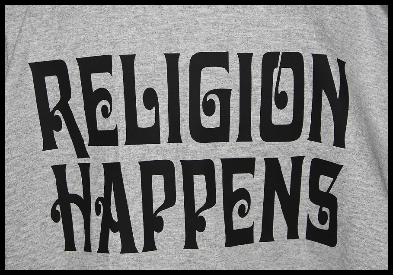 Religion Happens Motorcycle T-Shirt