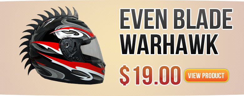 Even Blade Warehawk Motorcycle Helmet