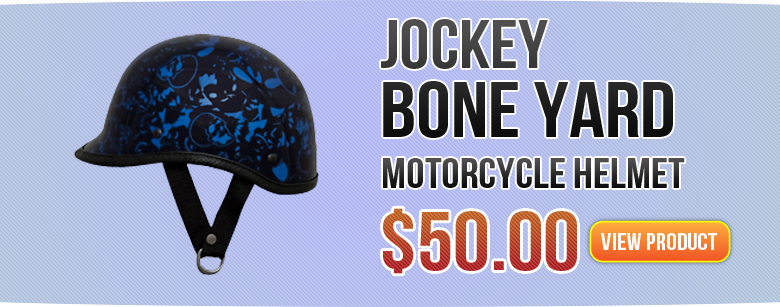 Jockey Boneyard Motorcycle Helmet