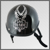Eagle Rhinestone Motorcycle Helmet Patch